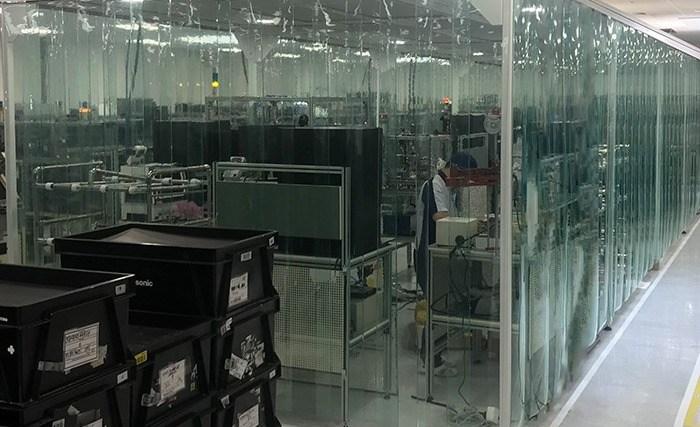ISO-klasse 8 softwall cleanroom - ingebouwde ESD-bescherming