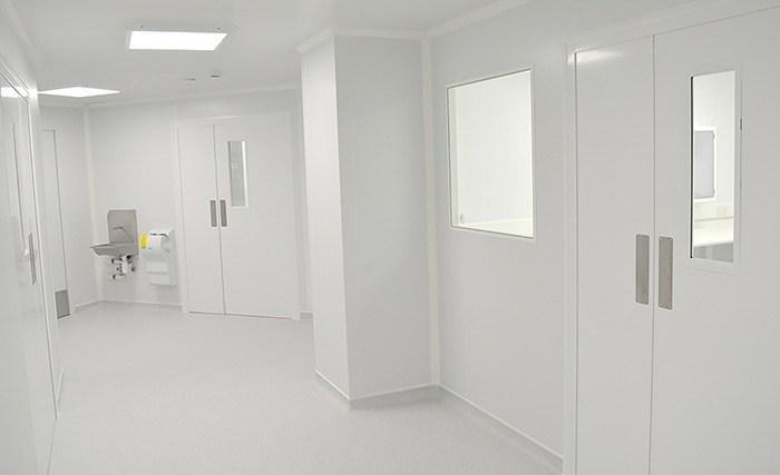 Cleanroom Access Corridor