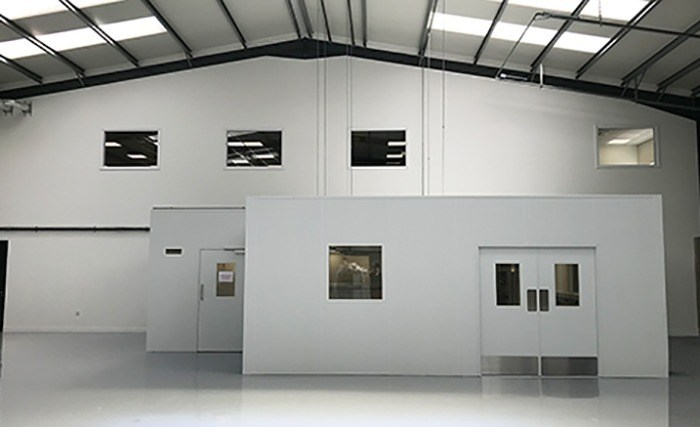 Cleanroom-labaratorium