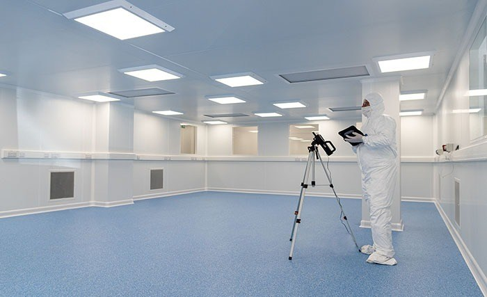 Cleanroom validation at Surrey NanoSystems