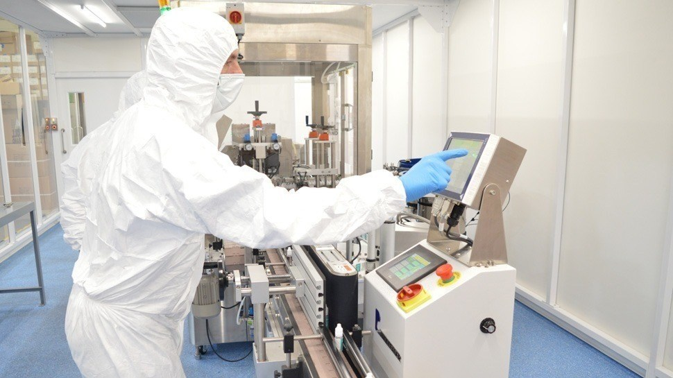 Modulaire cleanrooms