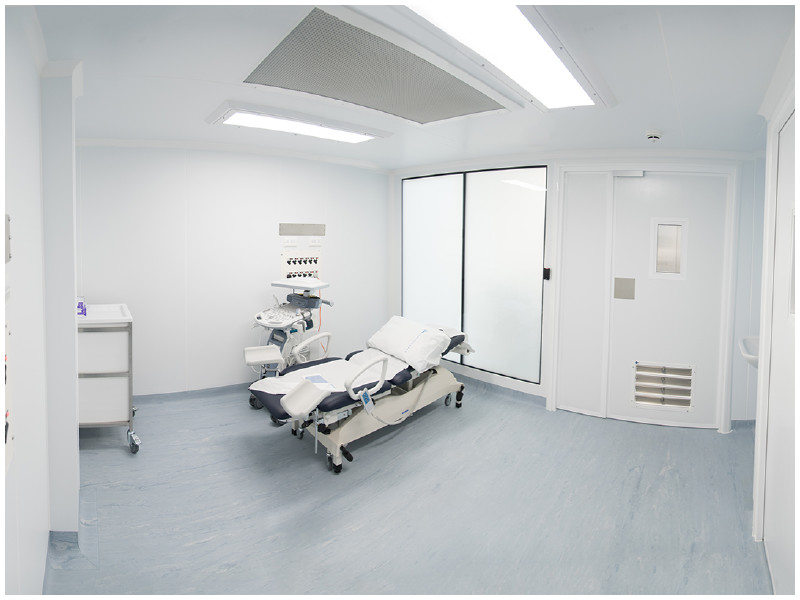 Permanente Cleanroom