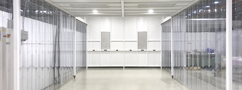 Flappen cleanroom