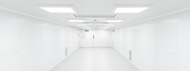 C2C Fully-Flush Monobloc Panel System Cleanroom - Kingspan Precision