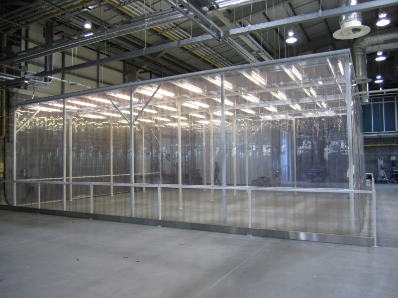 Modulaire Cleanroom Fabricage